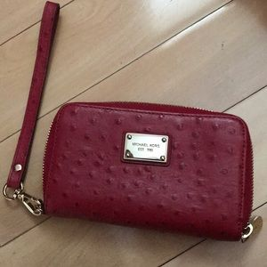 Michael Kors Red Wrislet